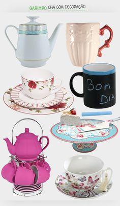 Chá com decoração. Confira: http://casadevalentina.com.br/blog/detalhes/cha-com-decoracao-3209 #decor #decoracao #interior #design #casa #home #house #idea #ideia #detalhes #details #style #estilo #casadevalentina #produtos #products