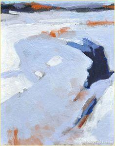 "Mark Daniel Nelson | ""Frozen River Study"""