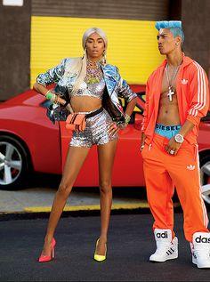 The Queen of Hip-Hop: Sebastian Faena for V Magazine Hip Hop Fashion, Sport Fashion, Urban Fashion, 90s Fashion, Fashion Trends, Fashion History, V Magazine, Trends Magazine, Magazine Editorial