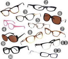 Discount Designer Eyeglasses | Okay, so I covered how to find cheap prescription glasses online. Here's a roundup of discount designer frames from Marc Jacobs, Versace, Via Spiga, Betsey Johnson, etc. - plus a promo code to get even more $$ off. I would wear, like, all of these. Though not at the same time.