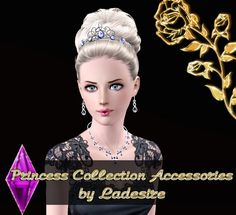 Princess Set Accessories by Ladesire - Sims 3 Downloads CC Caboodle