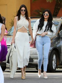 ICYMI: Kendall Jenner Wore a Super-Revealing Outfit to Easter Service via @WhoWhatWear