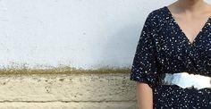 DE LUNARES Y NARANJAS: Mi look de invitada de boda en azul marino