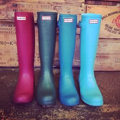 Nothin' cuter or smarter than Hunters. Great new spring colors!
