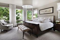 modern master bedroom design contemporary bedroom by AMW Design Studio Dream Bedroom, Interior Design, Beautiful Bedrooms, Bed Design, Home, Contemporary Bedroom, Bedroom Carpet, Home Bedroom, Modern Bedroom