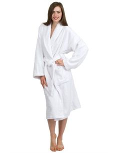 TowelSelections Turkish Terry Bathrobe 100 Egyptian Cotton Shawl Collar Terry  Robe for Women and Men Made b3239ae88