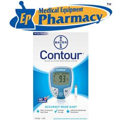 Bayer Ascensia® Contour® Blood Glucose Meter - Available @EP Medical Equipment Pharmacy