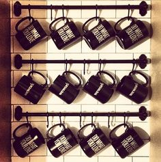 """Do What You Love"" mugs! #BryantPark #NYC #WeWork"