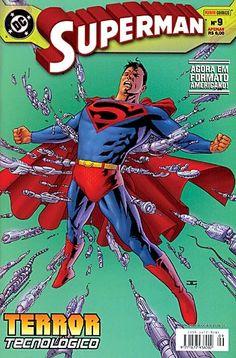 LIGA HQ - COMIC SHOP SUPERMAN #09 PARA OS NOSSOS HERÓIS NÃO HÁ DISTÂNCIA!!!