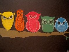 Owls, by Odyssey on Deviant Art.
