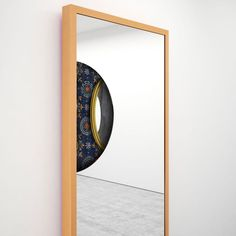 Detail of Mirror no. 2 from IX Mirrors by Ron Gilad