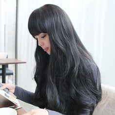 Amazon.co.jp: ロング 耐熱 ウィッグ 女性 用 女装 用 (ネット 付き) ブラック ライトブラウン ダークブラウン (ブラック): 服&ファッション小物