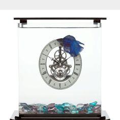 Clock fish tank