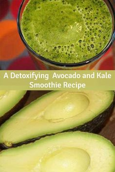 Smoothies made with superfoods like avocado and kale make it easy to get concentrated nutrition into your family's diet. They can also be a great way to have highly nutritious greens, that don't always lend themselves to simple recipes. Smoothies Kiwi, Healthy Green Smoothies, Green Smoothie Recipes, Healthy Drinks, Smoothie Drinks, Eating Healthy, Clean Eating, Avocado Kale Smoothie Recipe, Raw Food Recipes