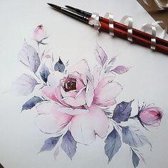 "8,621 Likes, 42 Comments - •Diana Severinenko (@dianaseverinenko) on Instagram: ""#watercolorillustration #illustration #artmagazine #artgalery #worldofartists #art_spotlight…"""