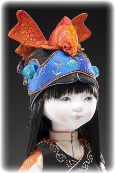 beautiful doll by Leslie Molen