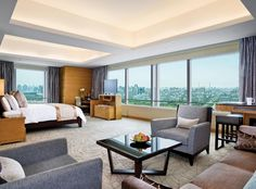 Luxury hotels and resorts spanning key locations around the world. Shangri-La Hotels and Resorts offer exuberant service, a range of amenities, and stylish interiors which present an unforgettable experience. Top Hotels, Hotels And Resorts, Shanghai Hotels, Shangri La Hotel, Outdoor Furniture Sets, Interior Design, Luxury, Room, Body Therapy