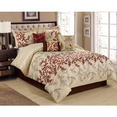 Madison Park Preston 7-piece Comforter Set - Overstock Shopping - Great Deals on Madison Park Comforter Sets