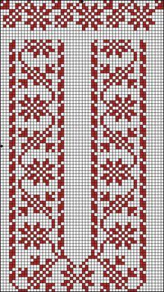 Cross Stitch Bookmarks, Cross Stitch Borders, Cross Stitch Designs, Cross Stitching, Cross Stitch Embroidery, Cross Stitch Patterns, Crochet Flower Patterns, Crochet Stitches Patterns, Loom Patterns