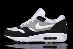 Nike Air Max 1 – Black/White-Grey,  Go To www.likegossip.com to get more Gossip News!