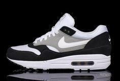 Nike Air Max 1 – Black/White-Grey,  Go To www.likegossip.com to get more Gossip News!