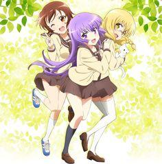 Anunciado el reparto principal del Anime Sansha Sanyou que se estrenará en Abril.