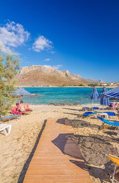 Stavros Beach in Chania, Crete - Photo by TheHotel.gr