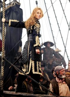 Keira Knightley in 'Pirates of the Caribbean: At World's End' (2007).