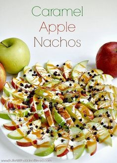 Caramel-Apple Nachos | 29 Caramel-Apple Snacks That Will Hold You Close