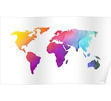 Shop Colorful World Map Design for Faux Canvas Print created by SageTypo. World Map Design, Wrapped Canvas, Vibrant, Diagram, Canvas Prints, Tapestry, Colorful, Watercolor, Poster