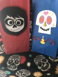 Coco party theme favor bags