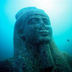 Divers Discover Gods and Monsters in an Ancient Underwater City