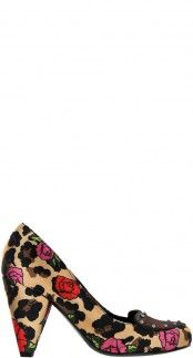 75a637dc8f9 Take your shoe collection from blah to heck yeah with this roses and  leopard print heel