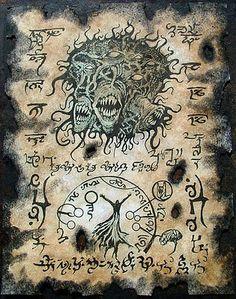 YOG SOTHOTH RITUALS cthulhu larp necronomicon grimoire demons magick occult