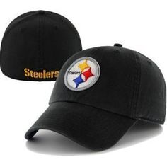 Men's '47 Brand Pittsburgh Steelers Franchise Slouch Fitted Hat by '47 Brand. $19.99. Made of cotton twill. Flexible fit Officially licensed. Solid-colored slouch hat. NFL? team logo embroidered on frontGarment washed for broken-in look. Turn to the '47 Brand? men's Franchise slouch hat for a sporty game-day look! This solid-colored, flex-fit cap is garment washed for a broken-in look and feel. It showcases your favorite NFL? team's logo embroidered on the front.