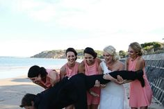 That moment when you accidentally drop the groom ...