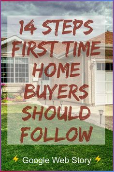 Home Buyers Roadmap to success | 14 steps home buyers should follow