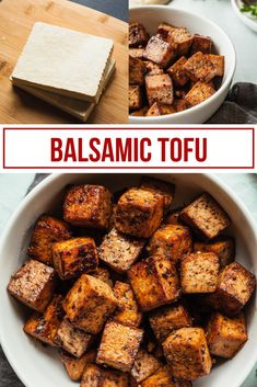 This easy balsamic tofu recipe is perfect served with grilled vegetables, on a sandwich, or tossed in a salad! Make a simple marinade, give it a quick toss in the skillet, and you've got a gluten free, vegan protein that is as versatile as it is delicious!