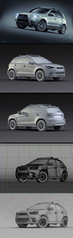 Mitsubishi ASX by PK3D Studio