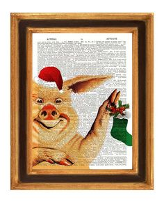 A treasury of funny Christmas prints!