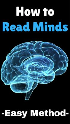 The easiest method on how to read minds like a true mentalist. Mind Reading Tricks, Mind Tricks, Psychology Books, Psychology Facts, Reading Body Language, Brain Facts, Self Development Books, Philosophy Books, How To Read People