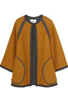 Joanie wool-blend coat | Issa | 55% off | KW | THE OUTNET