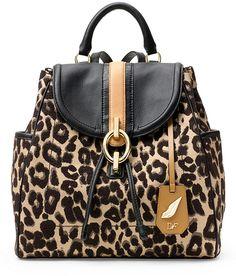 Sutra Leopard Jacquard Backpack by Diane von Furstenberg http://www.shopstyle.com/action/loadRetailerProductPage?id=453912849&pid=uid4084-13051922-39