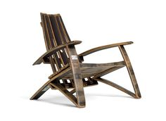 Bourbon Chair | Made with bourbon barrels