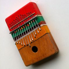 This is a Cigar box kalimba/sanza I've made. I take of all the paper because this removes the sound. People who make cigar box guitars do not do this because they are using a pic up mic but this is completely acoustic instrument. It sound real sweat as it is now tuned in d min diatonic scale.    #Instrument, #Music, #Recycled