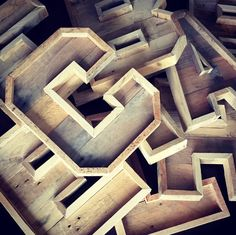 Rustic marquee letters made from reclaimed pallets.  -Letters A-Z available (Capital letters only).  -Letters are approximately 16 inches tall