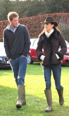 Luxe French wellies get royal stamp of approval