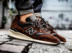 """New Balance 997DBR """"Author's Collection"""" (by Hero)... – Sweetsoles – Sneakers, kicks and trainers. On feet."""