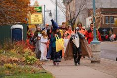 Join us for Downtown Trick-or-Treat in Sault Ste. Marie, MI. Local business open their doors to ghouls and goblins to dole out sweets the Friday before Halloween.
