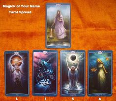 The Magick of Your Name Tarot Spread